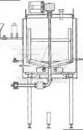 Резервуар предназначен для термической обработки химической продукции