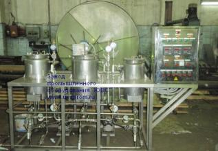 Установка для химической обработки волокнистых материалов и натуральных волос