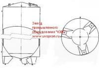 Резервуар вертикальный РВО -10,0.2.Т.К.0.3.0 ПС