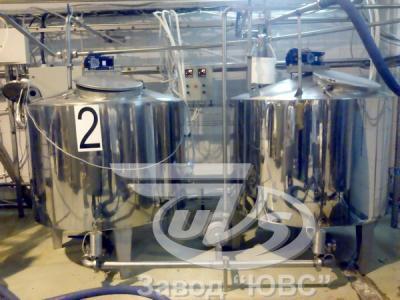 Резервуар для охлаждения и созревания сливок