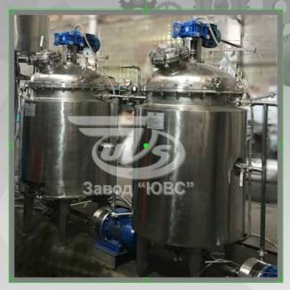 Вакуумный реактор для крема, геля, шампуней