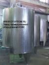 Резервуары вертикальные со змеевиком охлаждения РВО-2.5-2Т.К.3 3.Р ПС