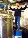 Вакуумный реактор для производства геля