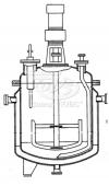 Реакторы с рамными мешалками, трубами передавливания и съемными крышками