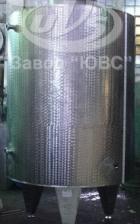 Резервуар вертикальный со змеевиком охлаждения