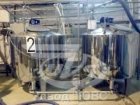 резервуар вертикальный -охладитель