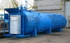 Горизонтальный резервуар с топливно-раздаточной колонкой