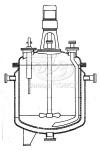 Реакторы с пропеллерными или турбинными мешалками трубами передавливания и съемными крышками
